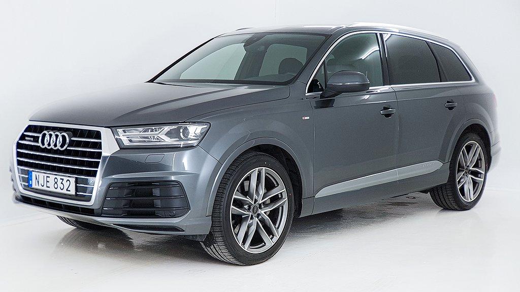 Audi Q7 3.0 TDI Q TipTronic Sport Edition, S-Line Euro 6 7-sits 272hk