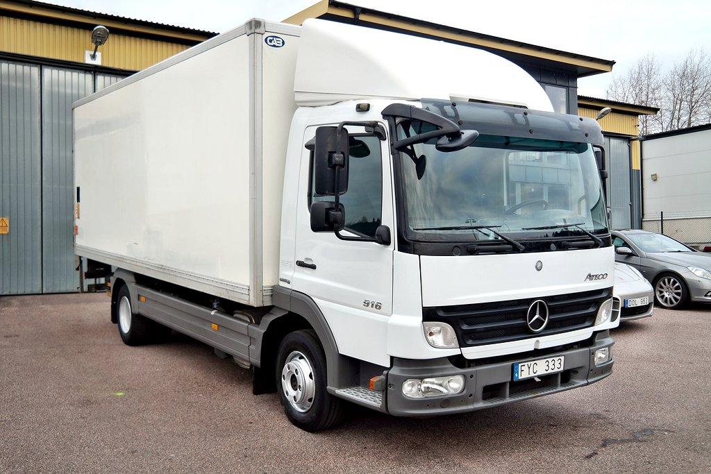 Mercedes-Benz Atego 916 L 4X2 Värmeskåp Leasebar