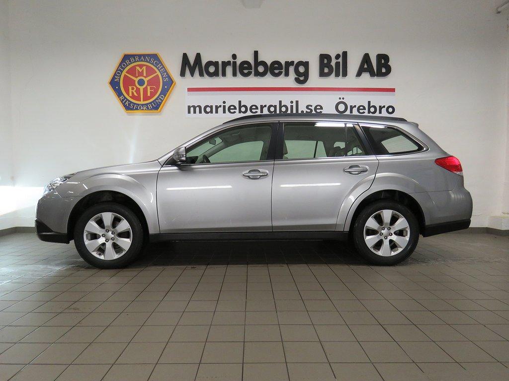 Subaru Outback 2.5i AUT AWD Drag/Skinn/Låga mil/167hk Sv-Såld