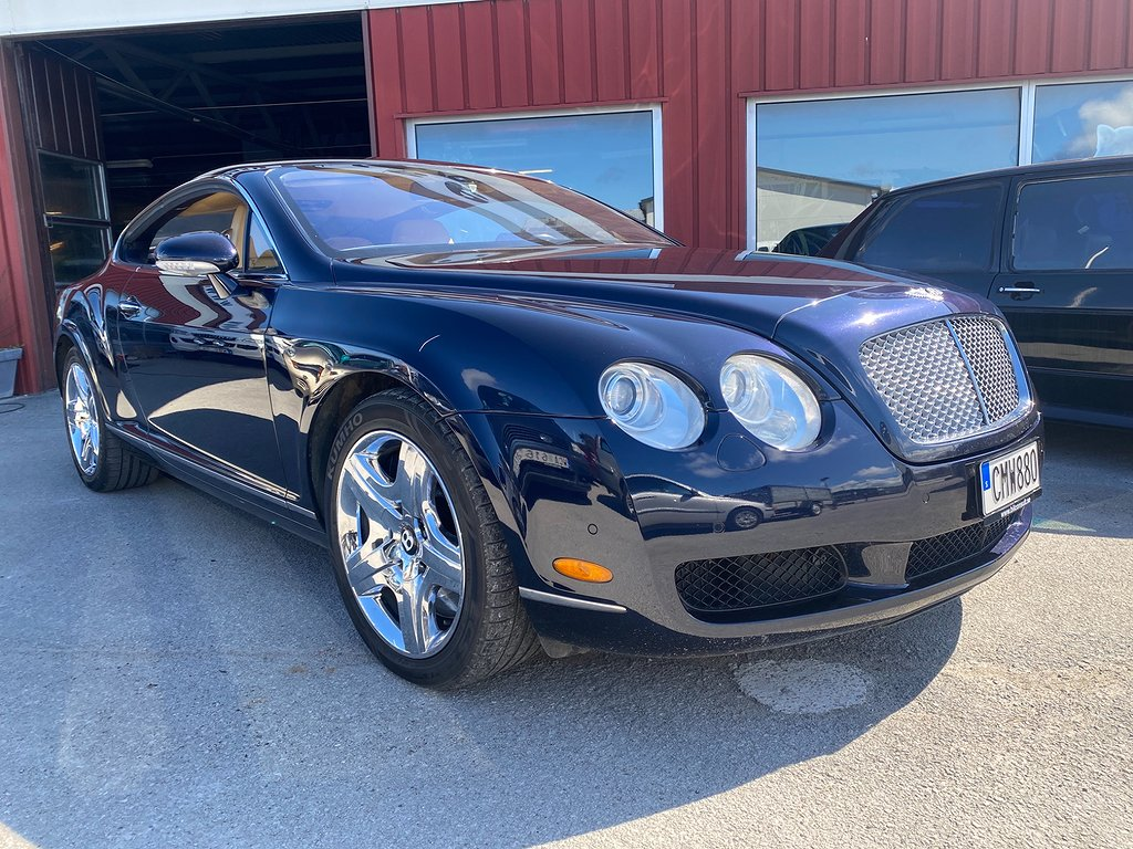 Bentley Continental GT 6.0 W12 Automat 560hk 4wd