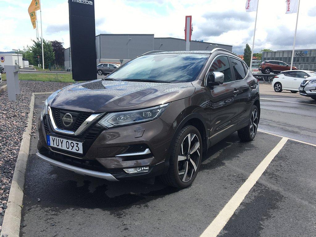 Nissan Qashqai /TEKNA PLUS/LÄDER/PANORAMA/115HK/