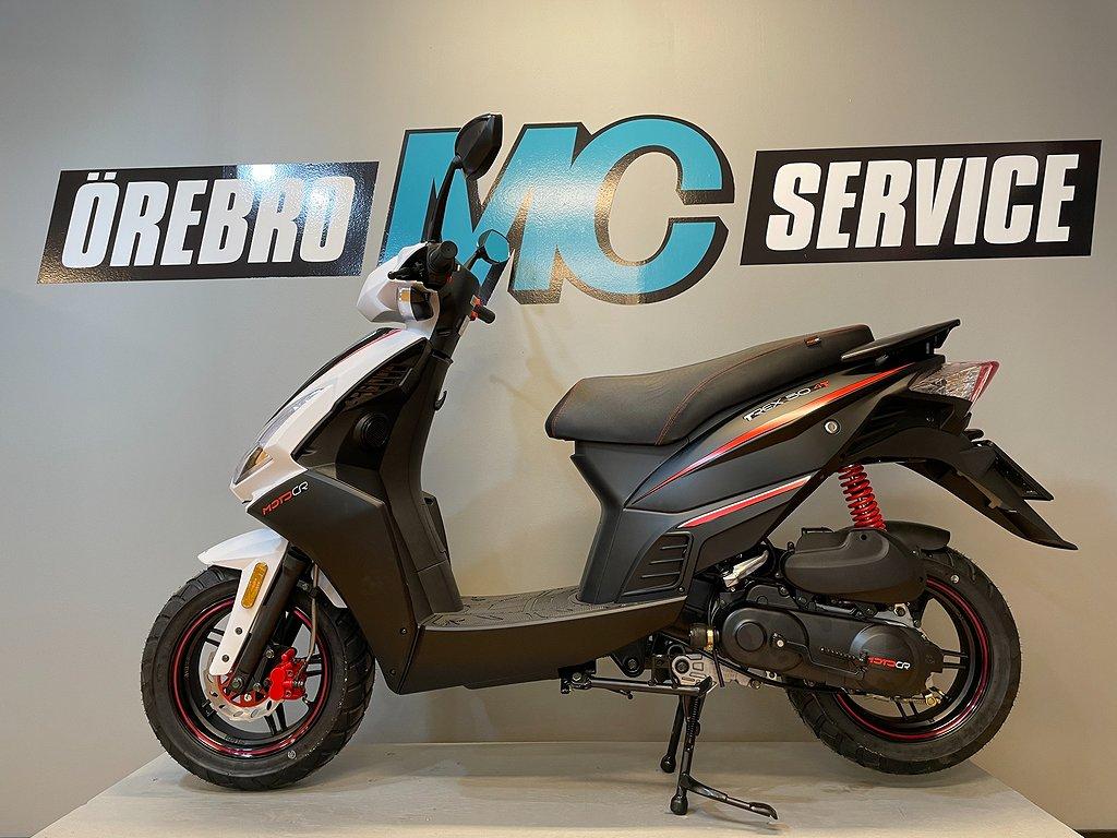 MOTO CR T-REX 45km/h Vit/Svart
