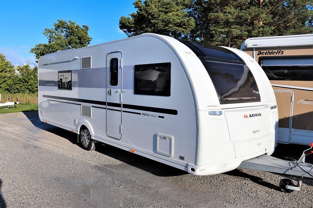Adria Alpina 663 UK *Mover *AC *Ugn mm