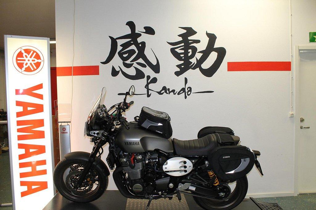 Yamaha XJR1300 med väskor, Vindruta, Akrapovic