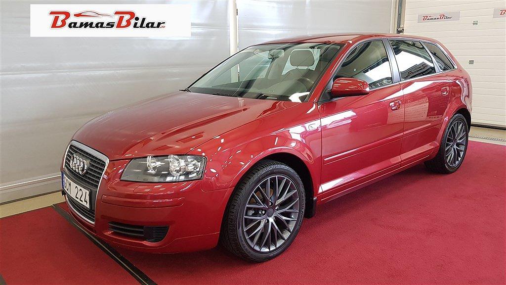 Audi A3 Sportback 1.9 TDI Manuell, 105hk Proline, Attraction