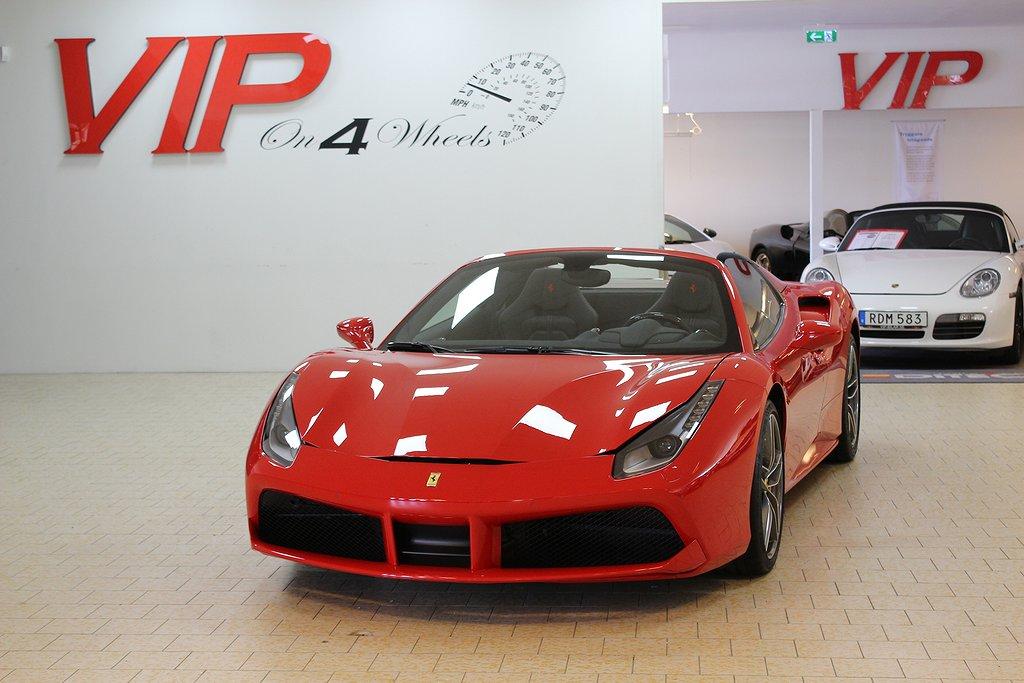 Ferrari 488 Spider 3.9 V8 (670hk) DCT 150 mil