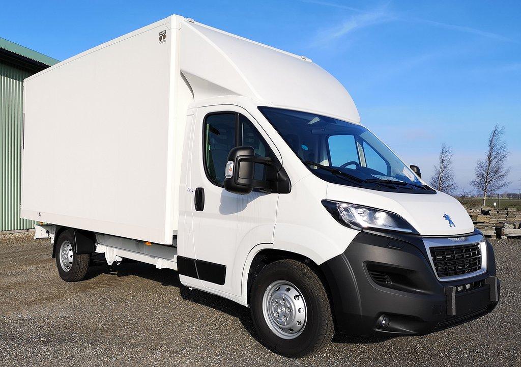 Peugeot Boxer Volymskåp L4 Lastvikt 1065kg, Omgående leverans 18,5m3