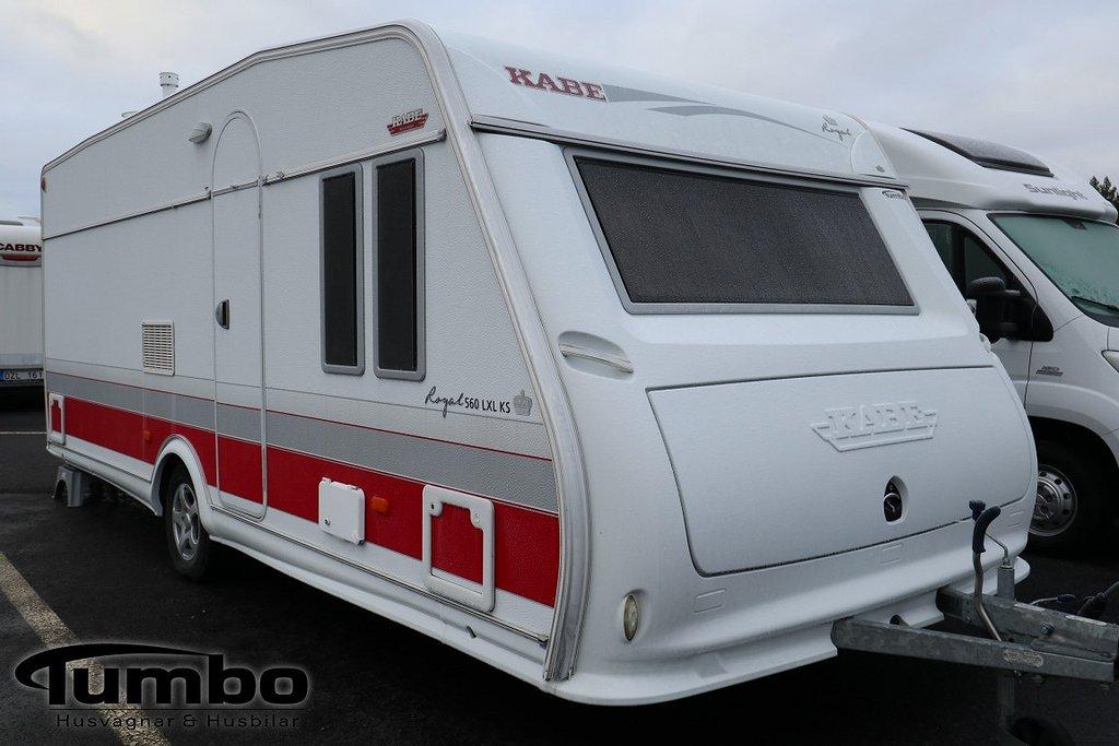 Kabe ROYAL 560 LXL KS Cityvatten, Alde, Ugn