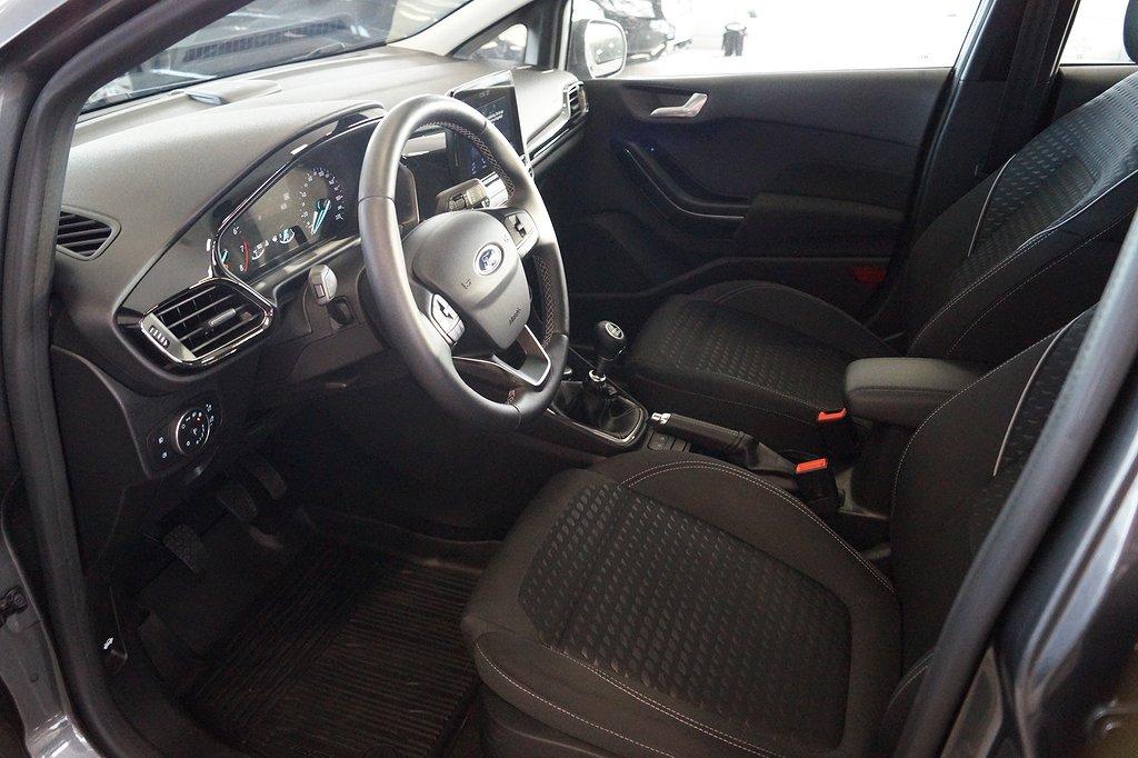Ford Fiesta 1.0T 100hk Titanium 5D/Navigator