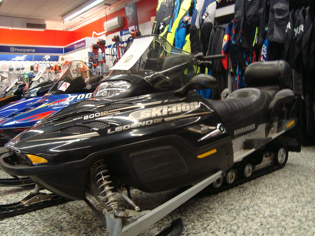 Ski-doo Grand Touring 800 SDI Legend ABRIS