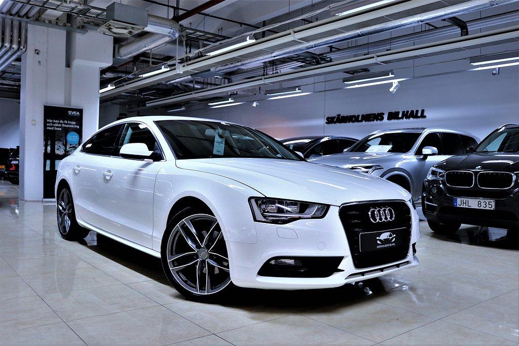Audi A5 1.8TFSI SPORTBACK FULLSERVAD 170HK ACC SVENSK