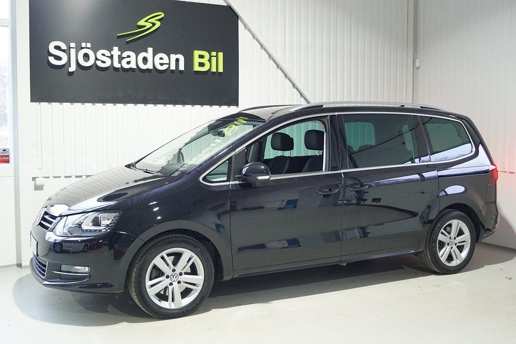 Volkswagen Sharan 2.0 TDI 4M GT 184hk Premium 7-sits