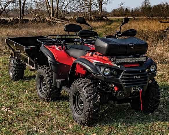 TGB 600 i EPS Traktor B / Vagn / Vinch