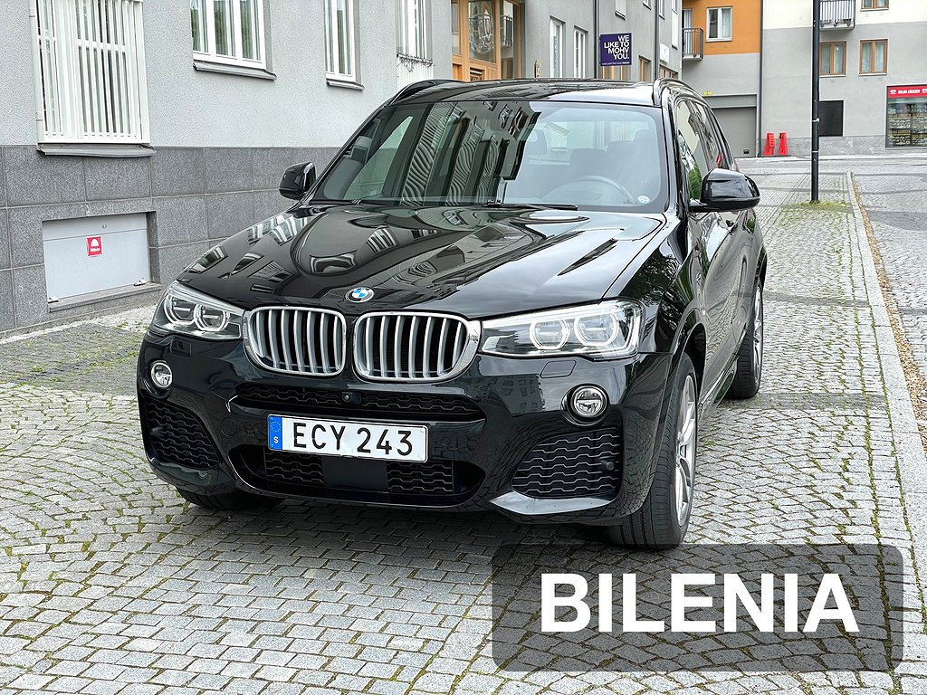 BMW X3 xDrive30d M Sport Eu6 258hk Panorama   D-Värm   Drag