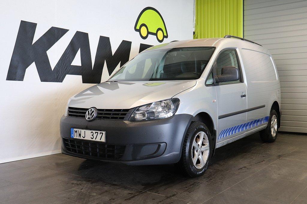 Volkswagen Caddy Maxi 2.0 TDI   4M   D-värm   Drag   SoV hjul   Man   110hk