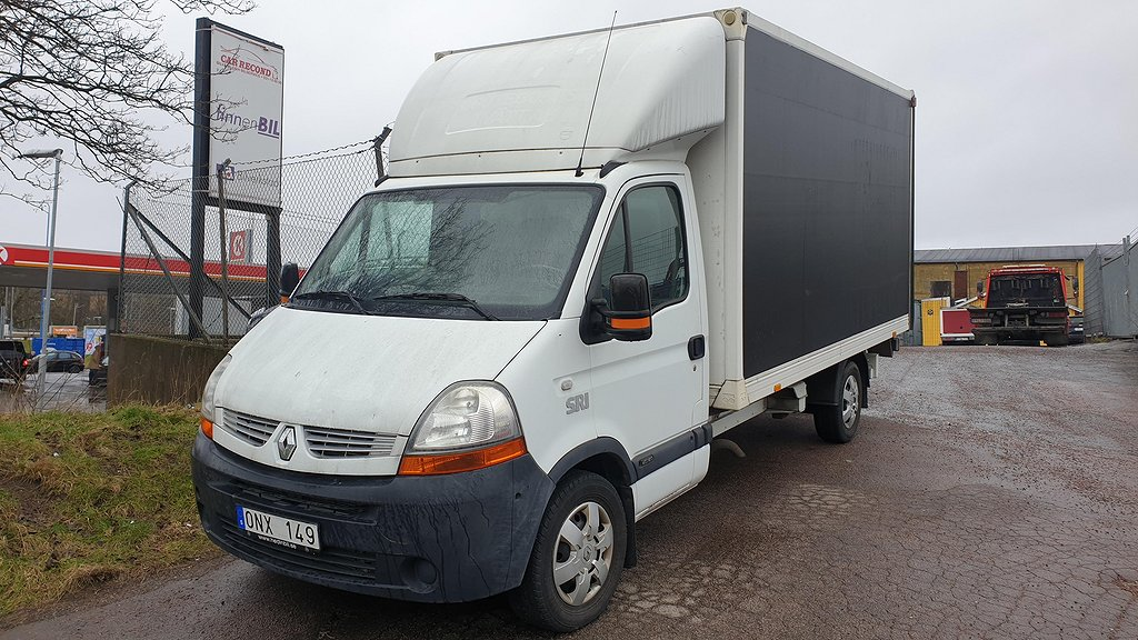 Renault Master Chassi Cab 2.5 dCi Bakgavellyft