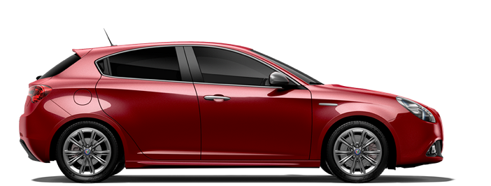 Modellbild av en Alfa Romeo Giulietta