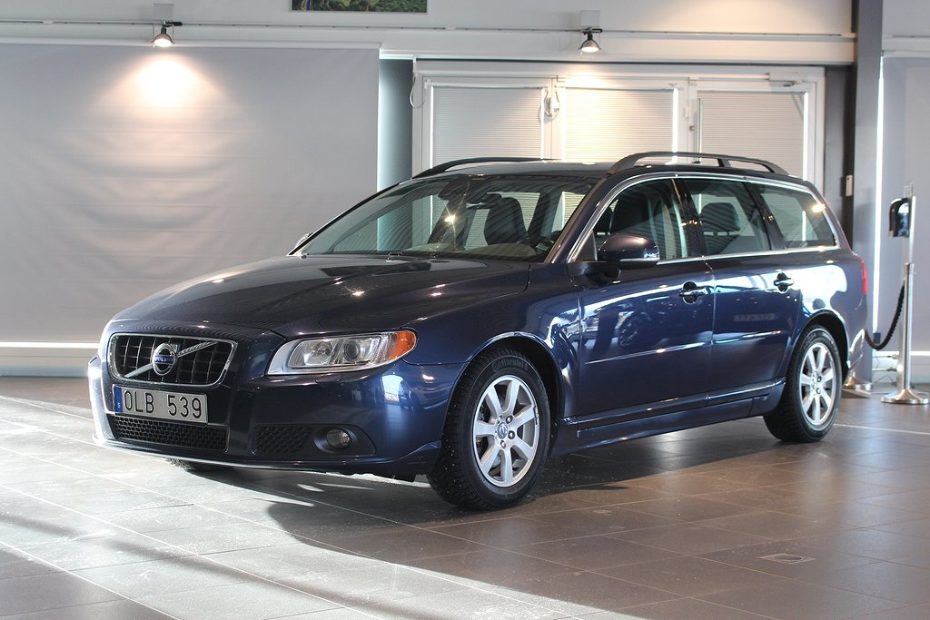 Volvo V70 D4 Momentum 163hk Vinterhjul Värmare