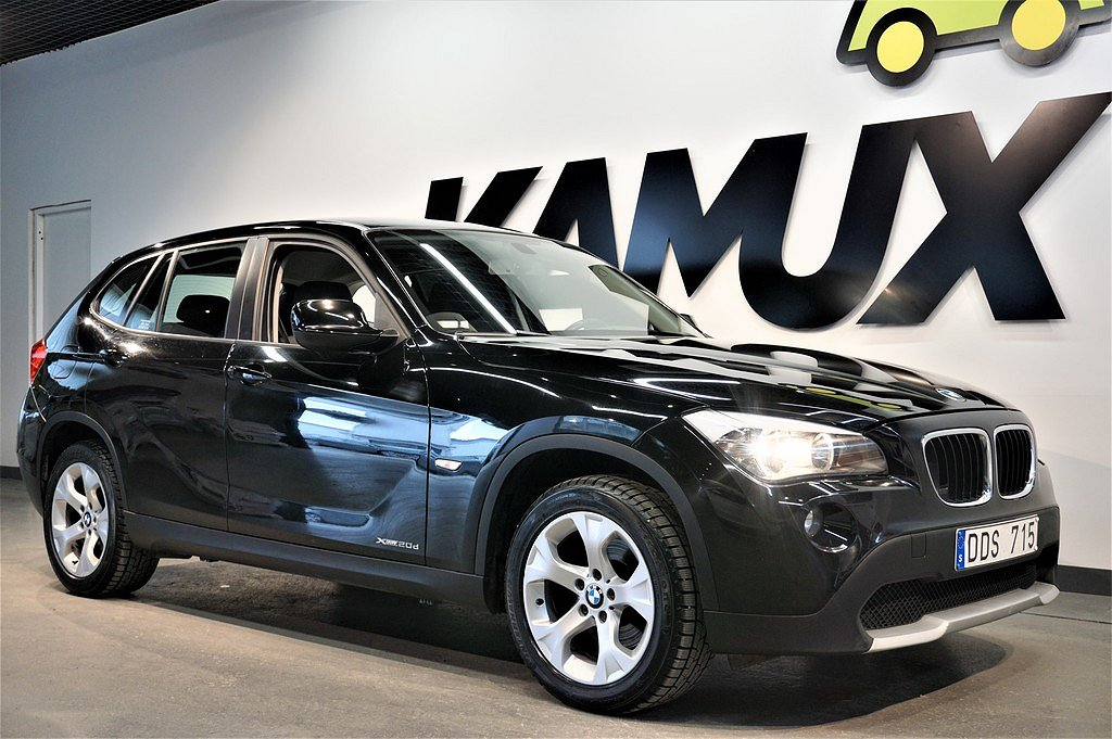 BMW X1 xDrive 20d HEMLEVERANS Aut S&V-Hjul Nyservad 177hk