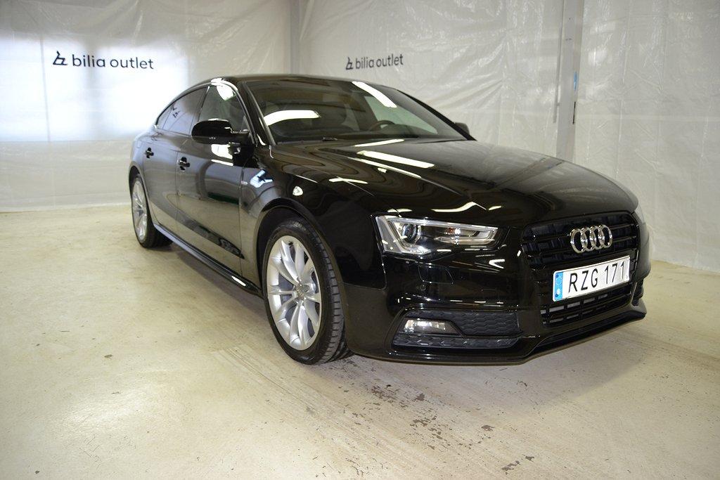 Audi A5 Sportback 1.8TFSI S-Line Skinn/Alcantara P-sensorer 177hk