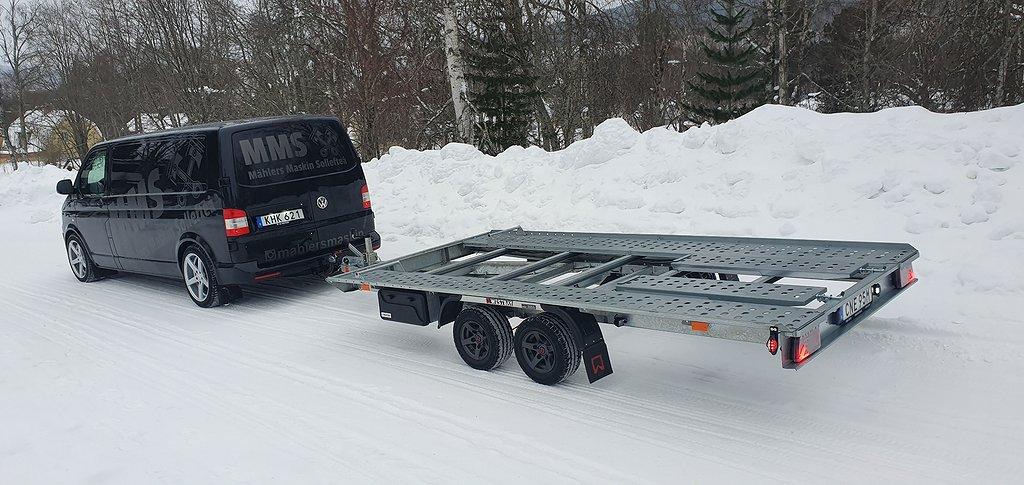 AGD Alfa  Biltrailer 2700kg Uthyres