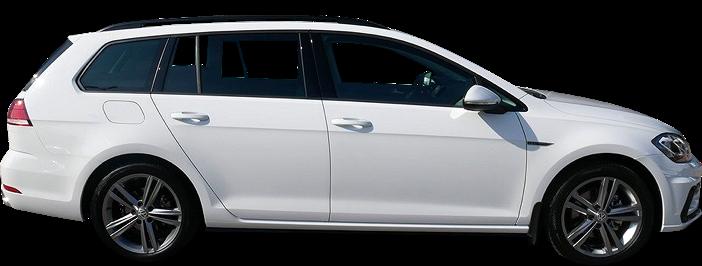 Modellbild av en Volkswagen Golf Sportscombi