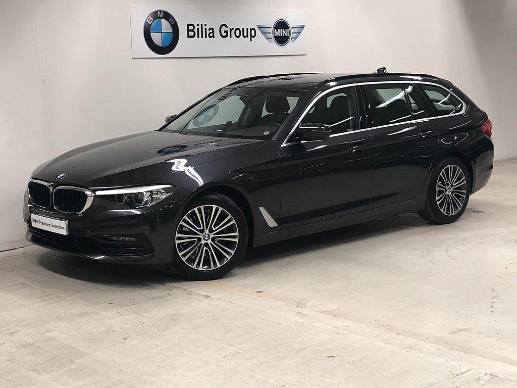 BMW 520 i Touring Aut Sport line | Navi | HiFi | Kupevärmare | Drag