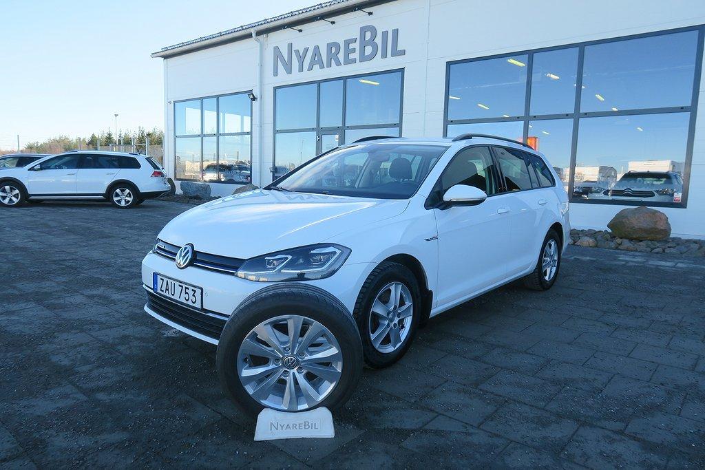 Volkswagen Golf 1.4 TGI CNG Bensin/Gas Värmare Drag Sportscombi