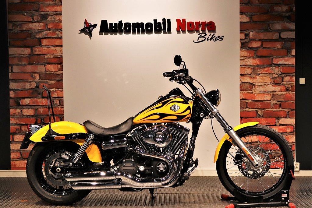 Harley-Davidson Wide Glide Packväska Nyservad