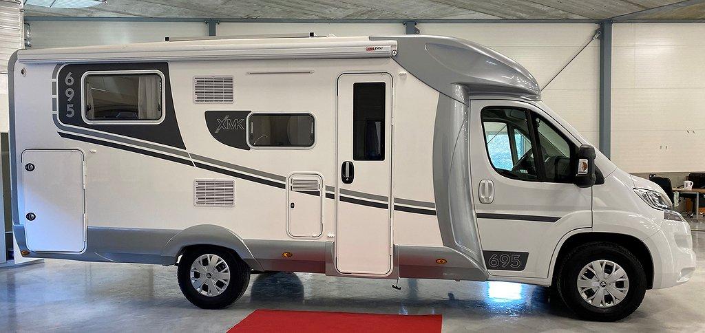 Ilusion XMK 695 ( Queensbed, Stort garage ) Dieselvärmare!