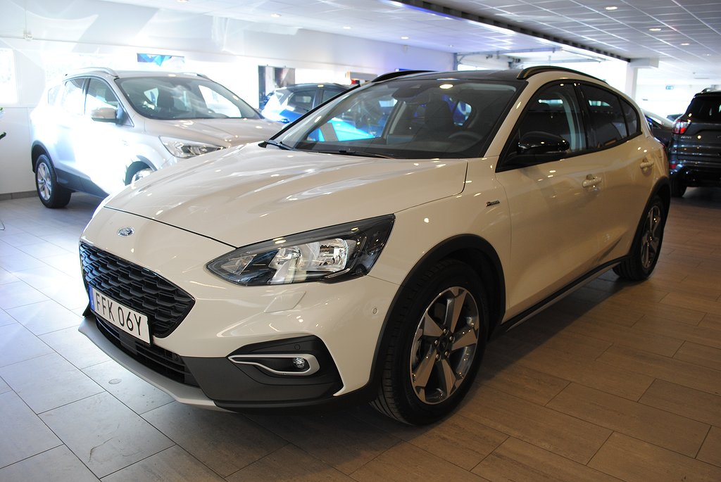 Ford Focus Active 1.0T EcoBoost 125hk Launch Edition