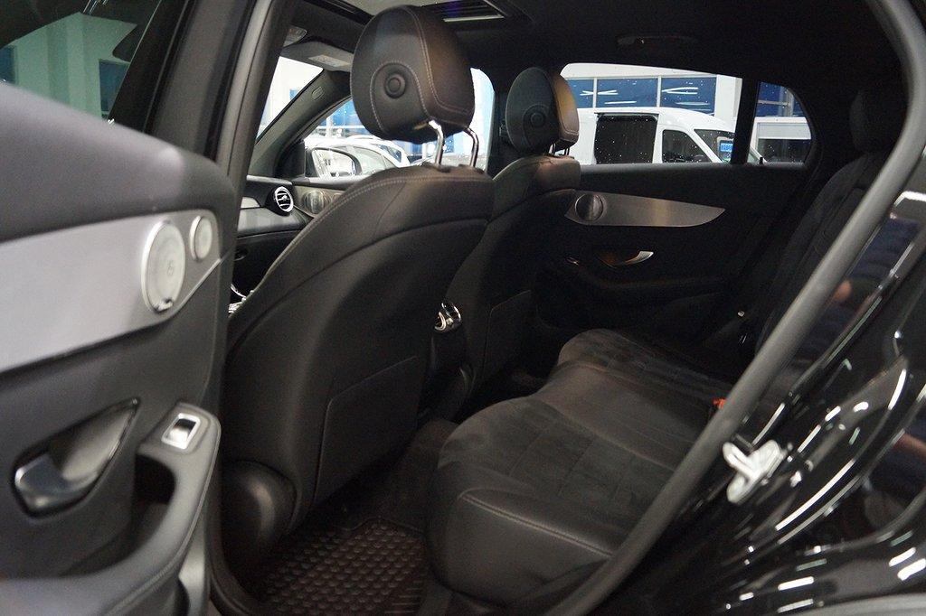 Mercedes-Benz GLC 220 d Coupé 4MATIC Adaptivfarthållare 170hk
