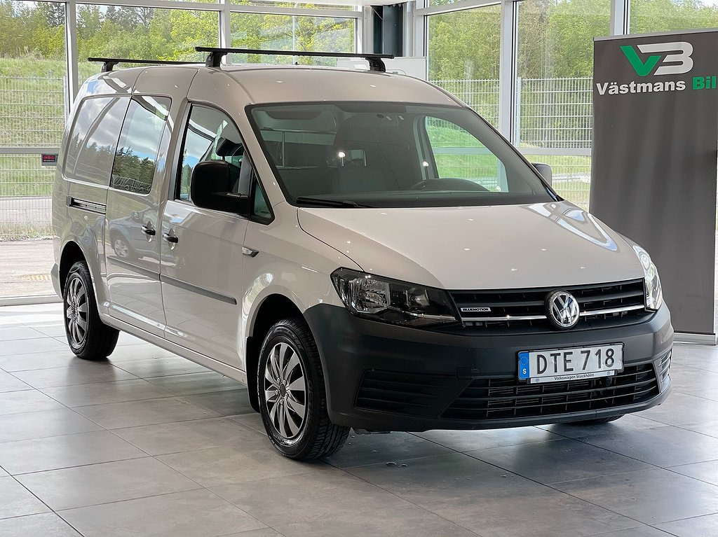 Volkswagen Caddy maxi 1.4 TGI 110hk/D-skjutdörrar/auto/Euro 6