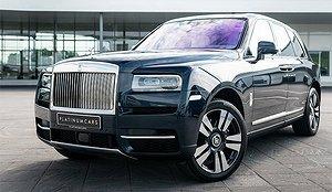 Fotbollsstjärnans unika Rolls-Royce i Sverige