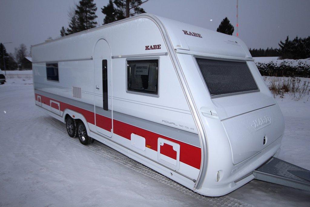 Kabe Royal 740 ETDL KS (Förbränningstoa)
