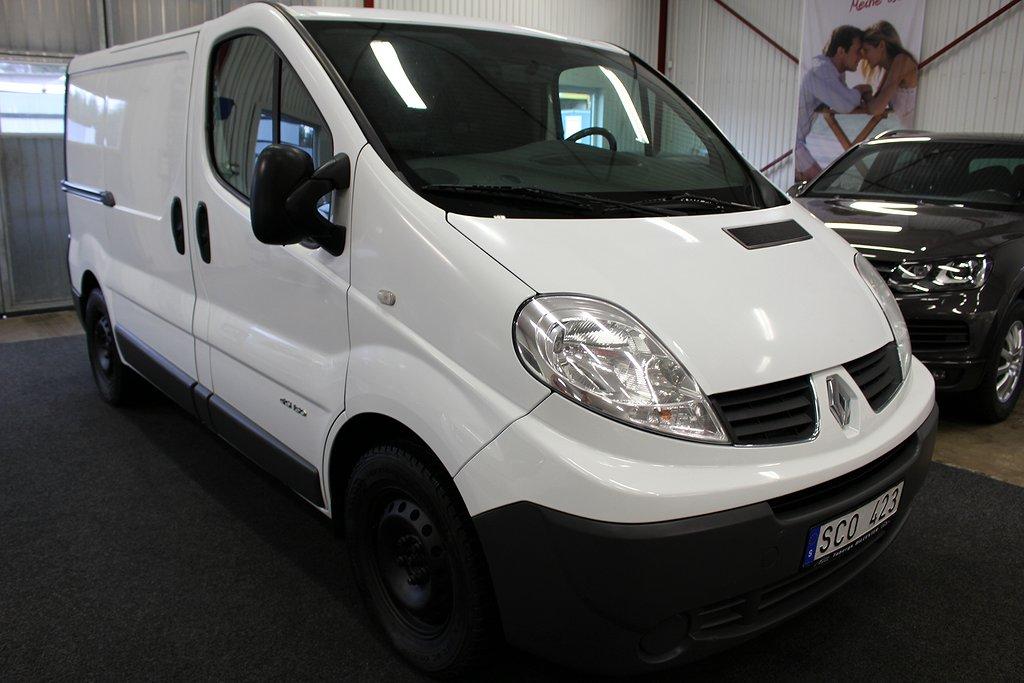 Renault Trafic 2.5dCi Skåp 145HK.Automat