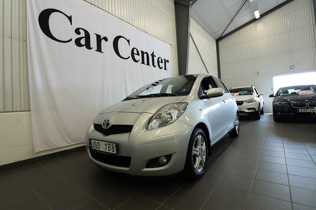 Toyota Yaris 5-dörrar 1.33 Dual VVT-i 101hk Aux SoV-hjul