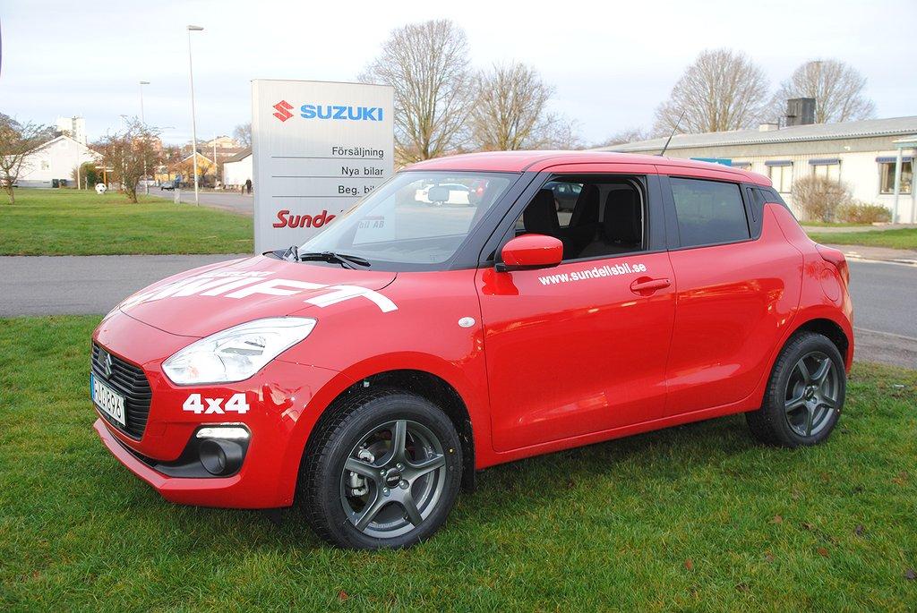 Suzuki Swift 1.2 4WD Euro 6 90hk