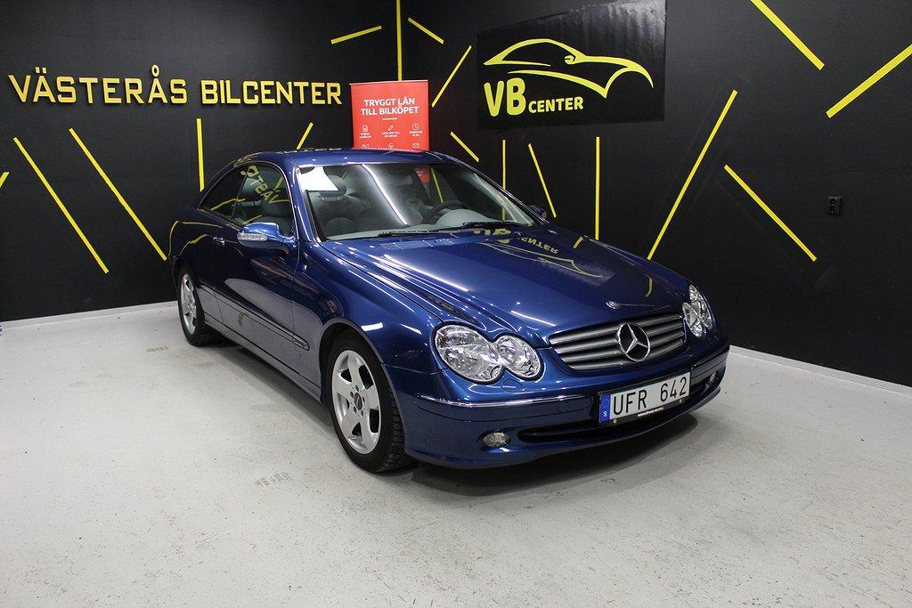 Mercedes-Benz CLK 200 Kompressor Coupé Automat Elegance 163hk