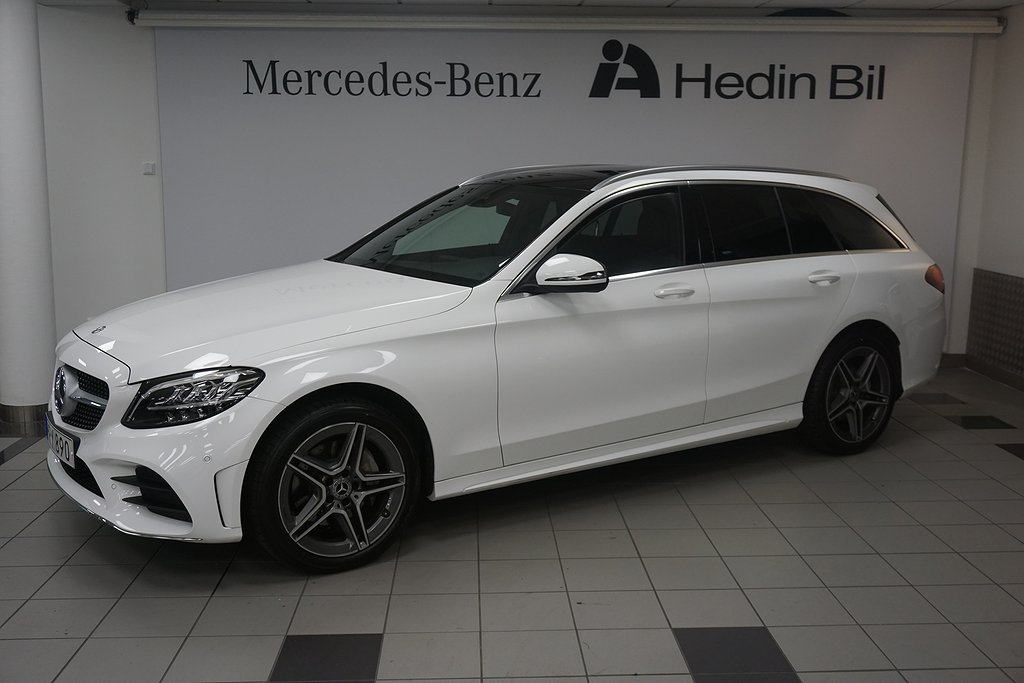 Mercedes-Benz C 220 d 4Matic Kombi AMG/Dragkrok