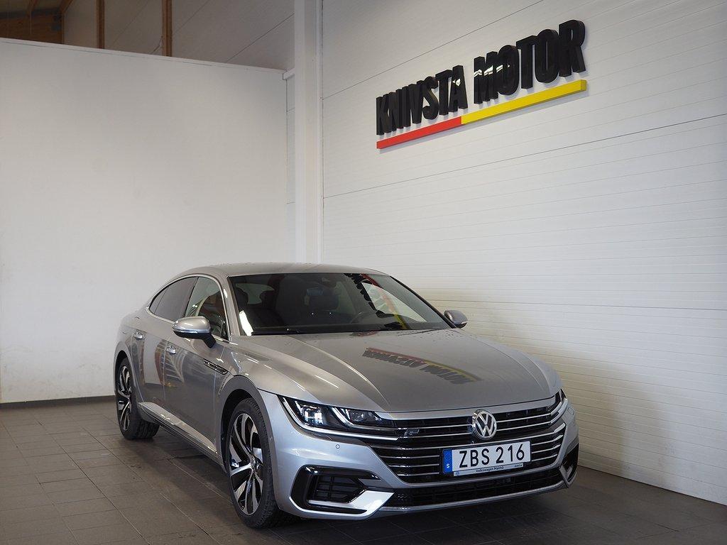 Volkswagen Arteon 2.0 TDI 4M Aut 190hk R-Line Drag D-värm 2019