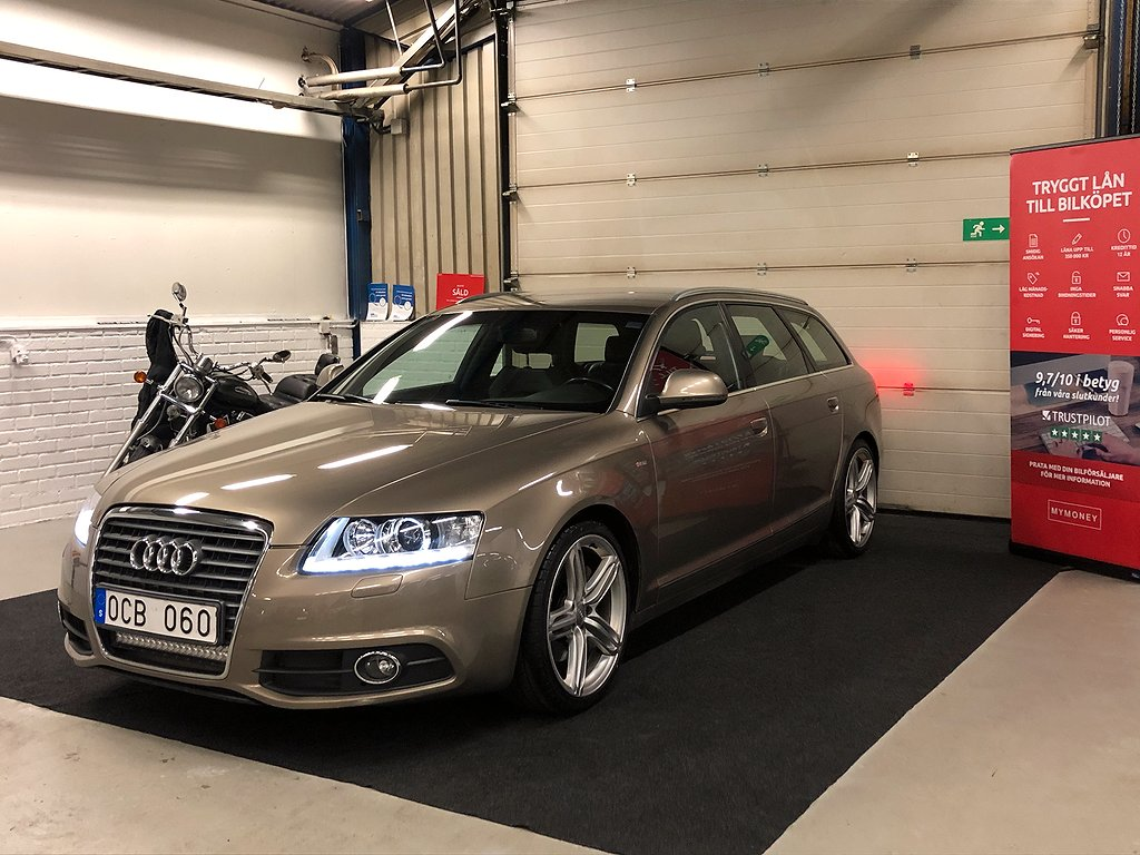 Audi A6 Avant 2.0 TDI DPF  Multitronic S-Line 170hk