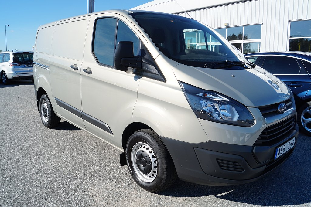 Ford Custom 270 L1 2.2 100hk Skåp leasebar