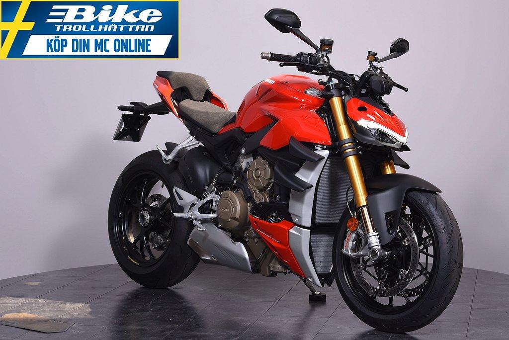 Ducati Streetfighter V4S.  Obs endast 60 mil !!