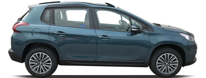 Modellbild av en Peugeot 2008 SUV