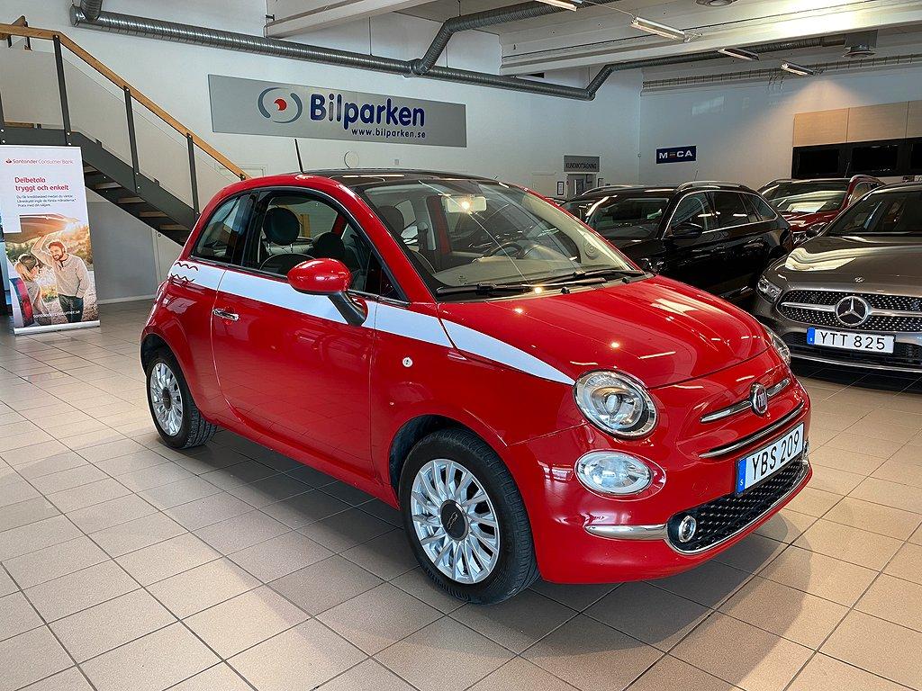 Fiat 500 1.2 Lounge Euro 6 69hk