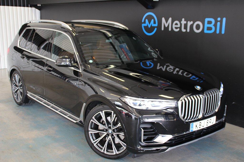 BMW X7 xDrive30d Executive Max Utrustad 265hk