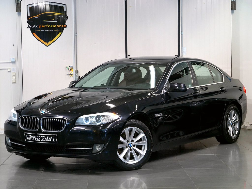 BMW 535 i xDRIVE SVENSK AUTO DRAG 306hk