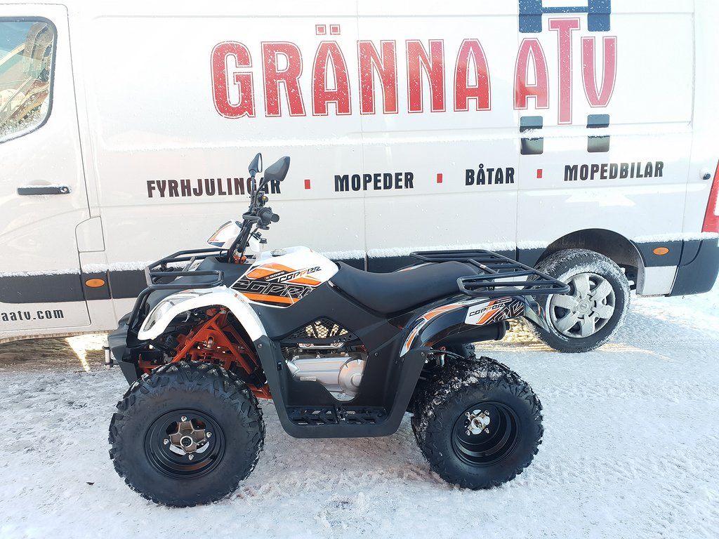 Goes Copper 175cc Traktor B / OMG LEV Gränna ATV