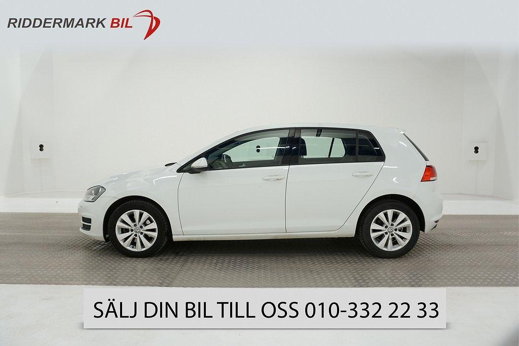 VW Golf VII 1.6 TDI BlueMotion Technology 5dr (105hk)